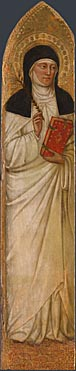 Attributed to Jacopo di Cione and workshop: 'Beata Paola'