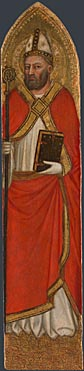 Attributed to Jacopo di Cione and workshop: 'St. Peter Damien'