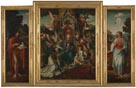 Triptych: The Virgin and Child with Saints