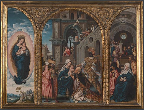 Circle of Jan Gossaert: 'The Adoration of the Kings'