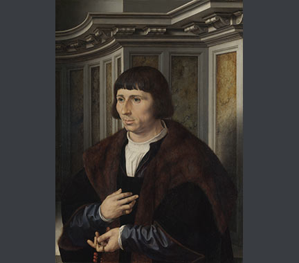 Jan Gossaert: 'Man with a Rosary'