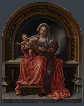 Jan Gossaert: 'The Virgin and Child'