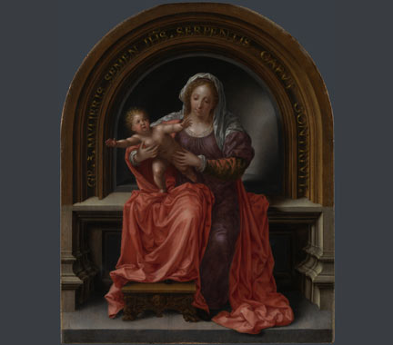 Jan Gossaert, 'The Virgin and Child', 1527