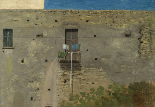 Thomas Jones: 'A Wall in Naples'