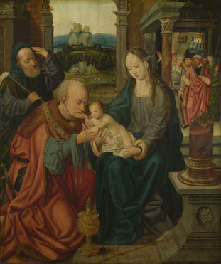 After Joos van Cleve: 'The Adoration of the Kings'