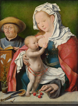 Joos van Cleve: 'The Holy Family'