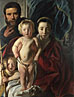 The Holy Family and Saint John the Baptist