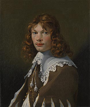 Karel Dujardin, 'Portrait of a Young Man (Self Portrait?)'