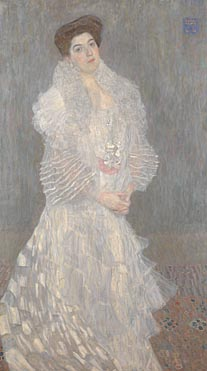 Gustav Klimt: 'Portrait of Hermine Gallia'