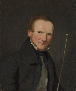 Christen Købke: 'Portrait of Wilhelm Bendz'