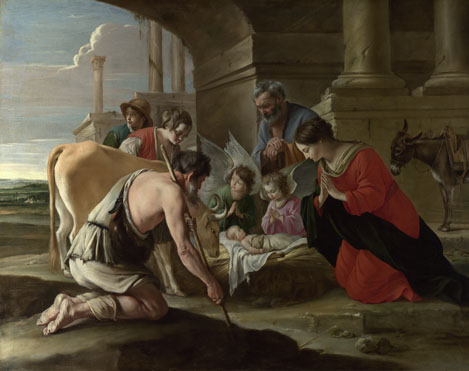 The Le Nain Brothers: 'The Adoration of the Shepherds'