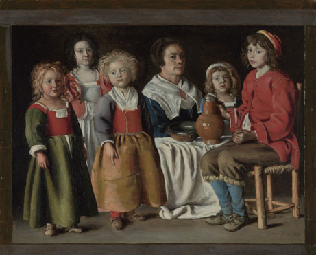 The Le Nain Brothers: 'A Woman and Five Children'