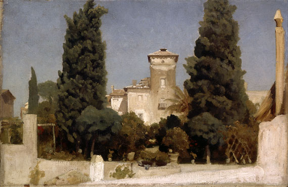 Frederic, Lord Leighton: 'The Villa Malta, Rome'