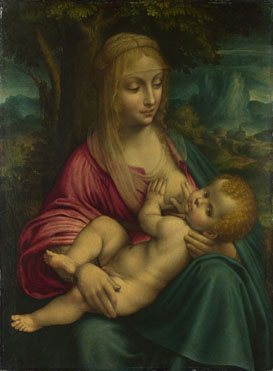 Follower of Leonardo da Vinci: 'The Virgin and Child'