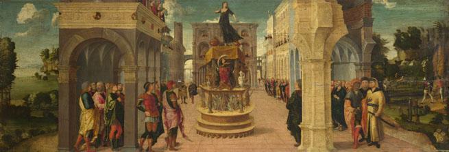 Liberale da Verona: 'Dido's Suicide'