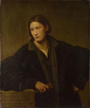 Bernardino Licinio: 'Portrait of Stefano Nani'