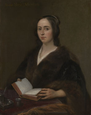 Jan Lievens: 'Portrait of Anna Maria van Schurman'