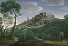 A Landscape with an Italian Hill Town