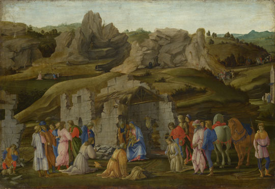 Filippino Lippi: 'The Adoration of the Kings'