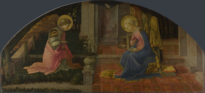 Fra Filippo Lippi: 'The Annunciation'
