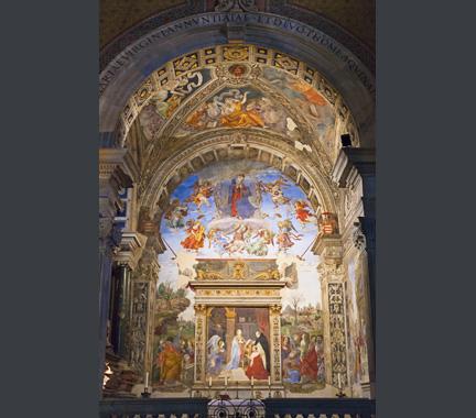Filippino Lippi: Carafa Chapel, Santa Maria sopra Minerva, Rome.