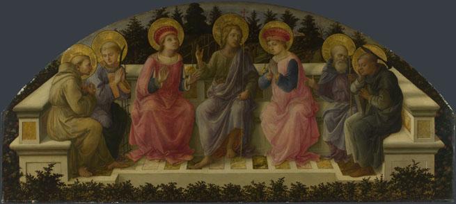 Fra Filippo Lippi: 'Seven Saints'