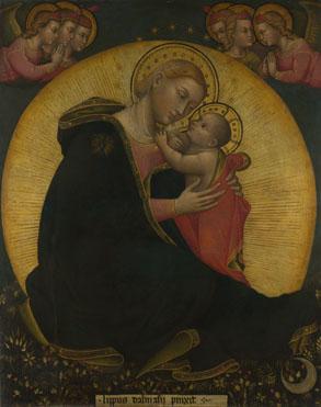 Lippo di Dalmasio: 'The Madonna of Humility'