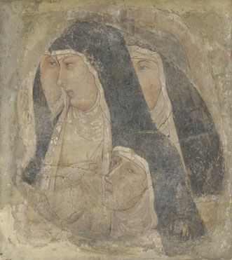 Ambrogio Lorenzetti: 'A Group of Poor Clares'