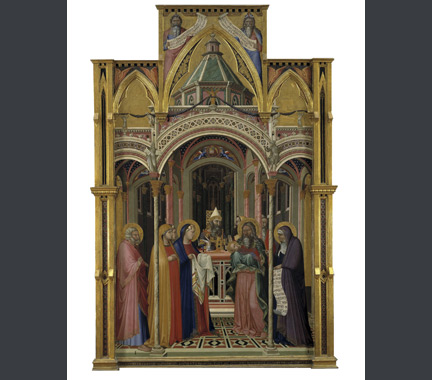 Ambrogio Lorenzetti: 'Presentation of Jesus in the Temple'.