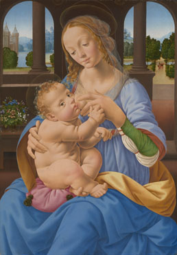 Lorenzo di Credi: 'The Virgin and Child'