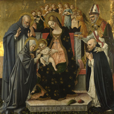 Lorenzo d'Alessandro da Sanseverino: 'The Marriage of Saint Catherine of Siena'
