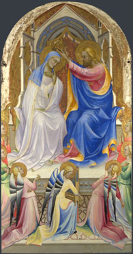 Lorenzo Monaco: 'The Coronation of the Virgin'