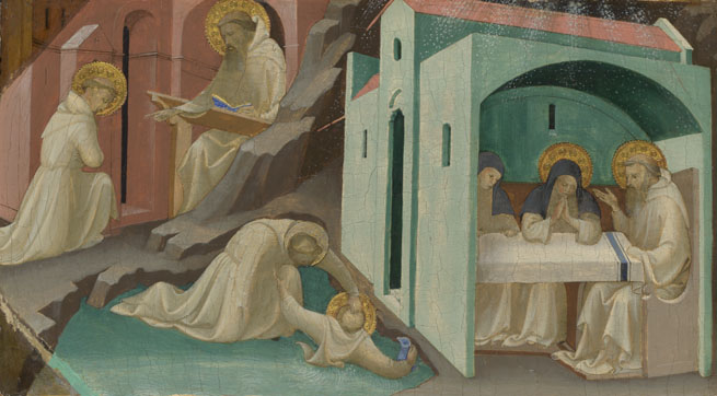Lorenzo Monaco: 'Incidents in the Life of Saint Benedict'