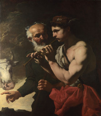 Johann Carl Loth: 'Mercury piping to Argus'