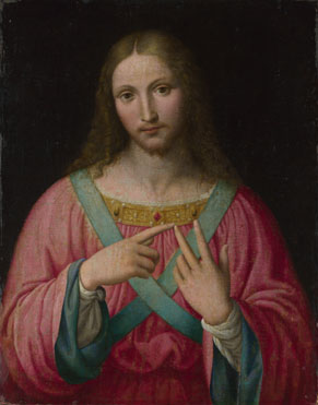 After Bernardino Luini: 'Christ'