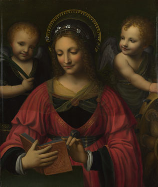 After Bernardino Luini: 'Saint Catherine'