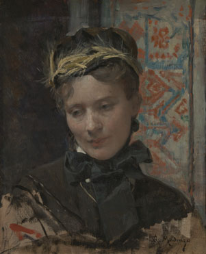 Raimundo de Madrazo: 'Portrait of a Lady'