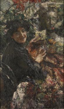 Antonio Mancini: 'Aurelia'