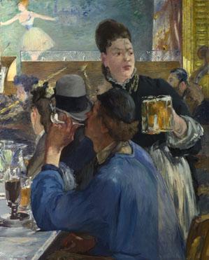 Edouard Manet: 'Corner of a Café-Concert'