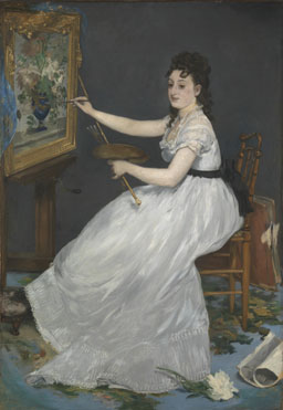 Edouard Manet: 'Eva Gonzalès'