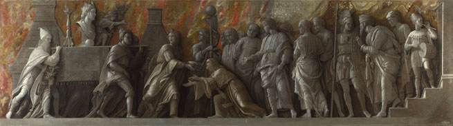 Andrea Mantegna: 'The Introduction of the Cult of Cybele at Rome'