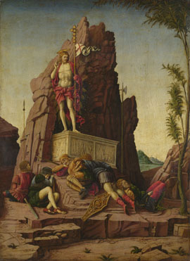 Imitator of Andrea Mantegna: 'The Resurrection'