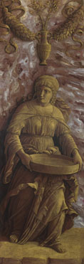 Andrea Mantegna: 'The Vestal Virgin Tuccia with a sieve'