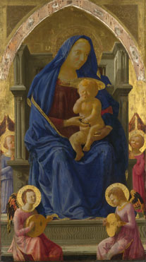Masaccio: 'The Virgin and Child'