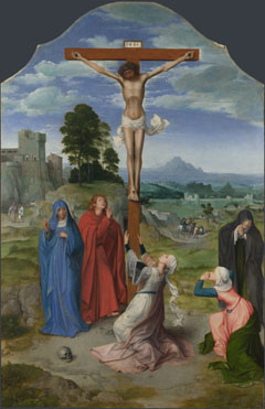 Workshop of Quinten Massys: 'The Crucifixion'