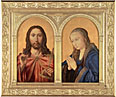 Diptych: Christ and the Virgin