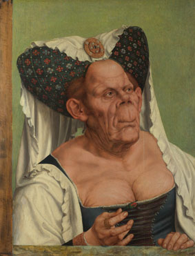 Attributed to Quinten Massys: 'A Grotesque Old Woman'