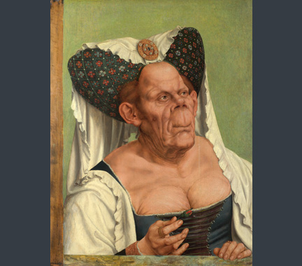 Massys, An Old Woman ('The Ugly Duchess')', about 1513