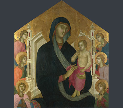 Master of the Albertini's The Virgin and Child with Six Angels