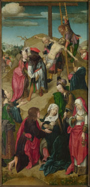 Master of Delft: 'The Deposition: Right Hand Panel'